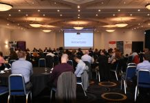 Over 70 business people attended the event