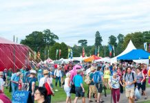 Visitors to this year's Shrewsbury Folk Festival raised more than £,6400 for Hope House. Photo: Steven Oliver