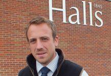 Stuart Richards, a chartered rural surveyor at Halls