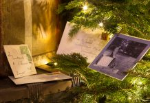 A 1940s Christmas at Attingham. Photo: Phillip Abram / National Trust