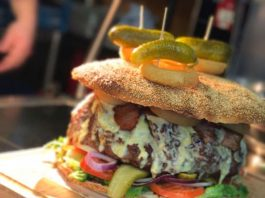 Belly Buster Burger