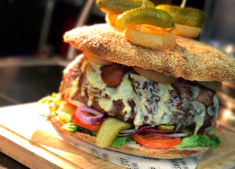 BellyBuster challenge burger