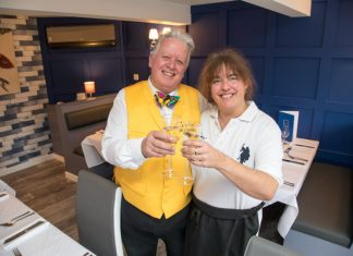Michael Gale and Laura Goodman have opened Carlini in Albrighton