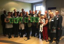 Persimmon Homes' hosted a coffee morning to celebrate the success of Community Champions