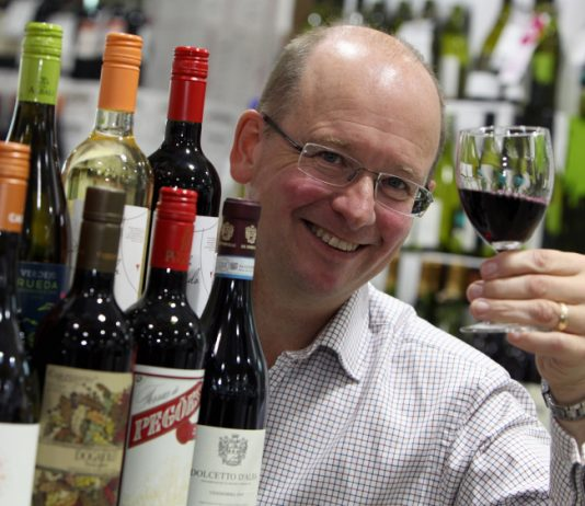 Gary Carter of Shropshire Wine School
