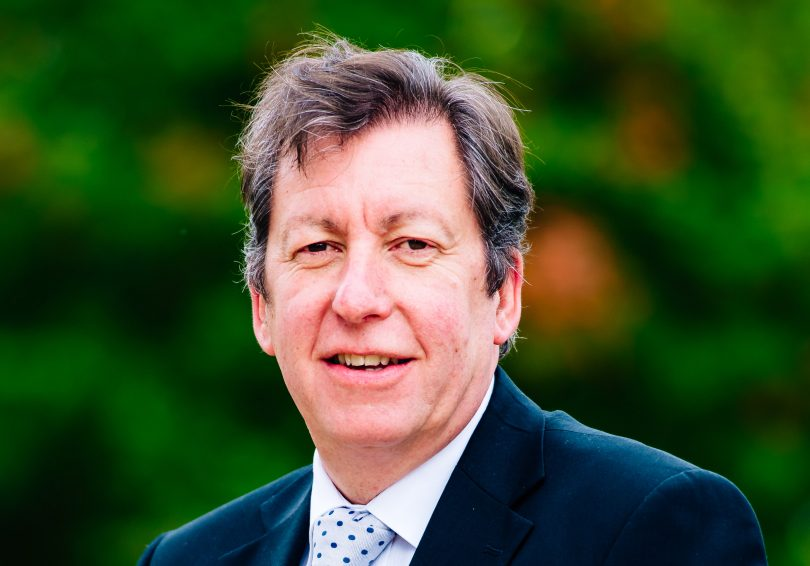 Graham Guest, Principal of Telford College