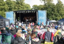 Last year's Proms and Prosecco in the Park proved a success