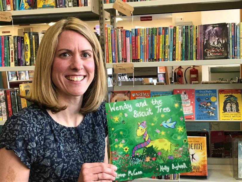 Shropshire author Lorna McCann