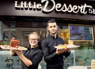 The Little Dessert Shop has opened in Shrewsbury