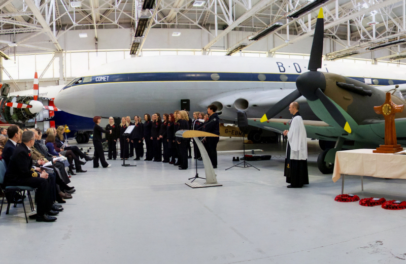 A Service of Remembrance will take place at RAF Museum Cosford. Photo: Trustees of the Royal Air Force Museum