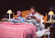 Bedroom Farce is being performed at Theatre Severn. Photo: Shaun Culliss Photography