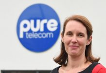 Sharon Hutchinson is the new marketing manager at Pure Telecom