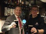 Wayne Jenson of Buckatree Hall Hotel and Reuben Crouch of Hobsons