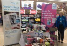 Val raising money at Sainsbury's