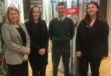 Working in the department are sales advisors Sophie Gough and Darrel Driver, along with Ebony Smallman. Store manager Andrea Cutler is also overseeing the curtain and blinds department
