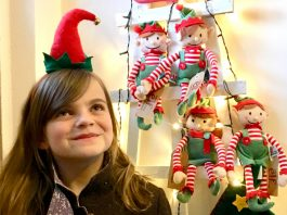 A dozen elves are hiding out in Shrewsbury town centre