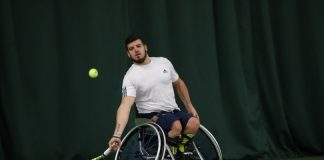 Former GB Paralympian Dave Phillipson will be looking to retain his men's singles title