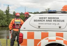Riverside safety patrols will take place in Shrewsbury this Christmas Photo: West Mercia Search & Rescue