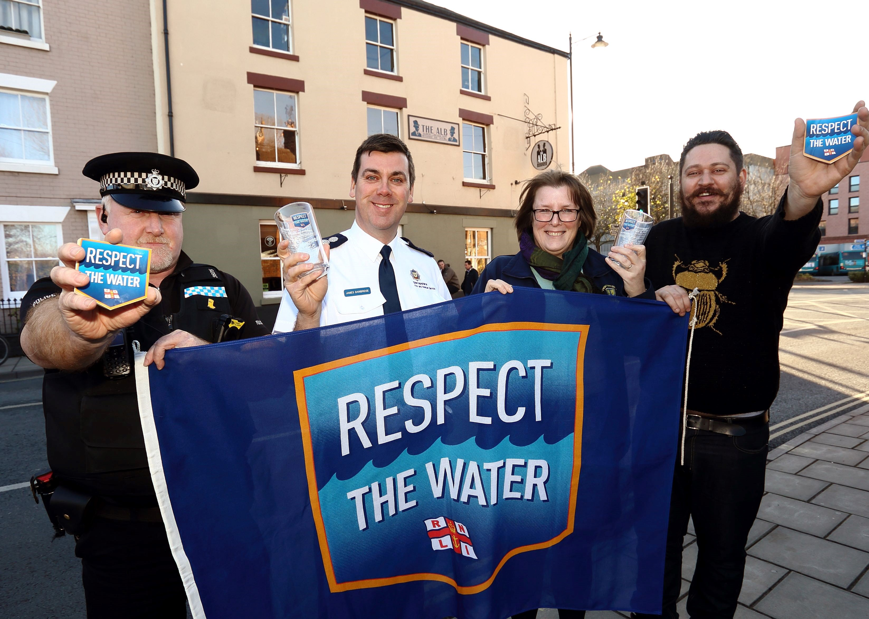 Respect The Water Campaign in Shrewsbury