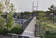 The footbridge leading to Severn Valley Railway station in Bridgnorth. Photo: Google Street View