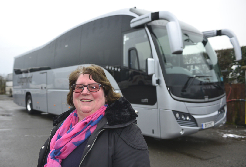 Longmynd Travel director Val Sheppard-Evans
