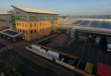 The UK's largest industrial-scale project combining both battery storage and solar PV has been installed at Lyreco in Telford