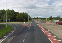 The A483/Maesbury Road junction. Photo: Google Street View