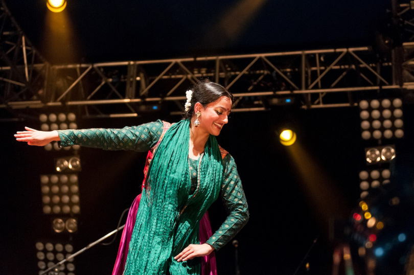 Sonia Sabri is one of the dancers who will be working with children through the Shrewsbury Folk Festival education outreach programme. Photo: Steven Oliver Photography