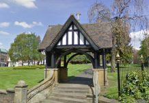 Lych Gate at All Saints Church is Wellington's War Memorial. Photo: Google Street View
