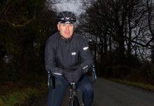 Alan Lewis, organiser of the Midnight Ride event. Photo: Tim Mitchell