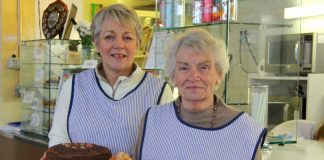 Joy Vance and her mother Noreen Maddox are hanging up their aprons of the legendary Market Buffet for the last time