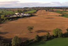 The 16.4 acre site is located next to Ellesmere Business Park