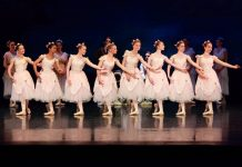 English Youth Ballet production of The Sleeping Beauty.