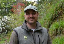John Rippin, head gardener at Bodnant Garden