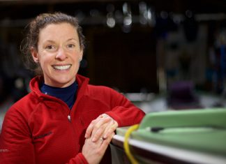 Kelda Wood, who will be seeking to write her name into the record books by completing the Talisker Whisky Atlantic Challenge later this year