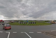 The funding will help make housing developments more viable by improving the existing capacity of the road network such as at the Mile End roundabout. Photo Google Street View