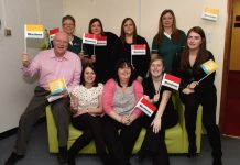 Sentinel Care Services staff are setting up a new fundraising group