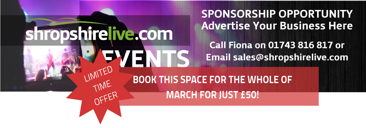 Sponsorship Messages Events March