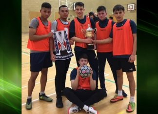 Telford College Public Services team – male champions