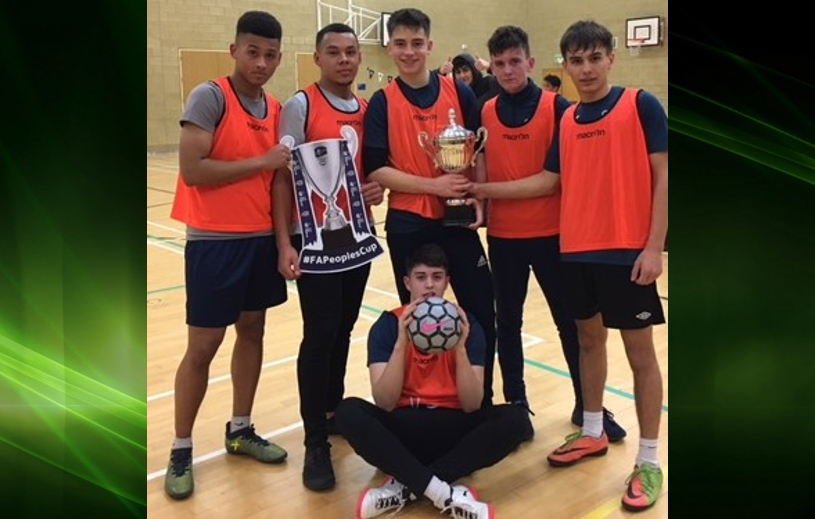 Telford College Public Services team – male champions