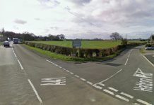 The collision happened at the junction of Hatton Road and the A41. Photo: Google Street View