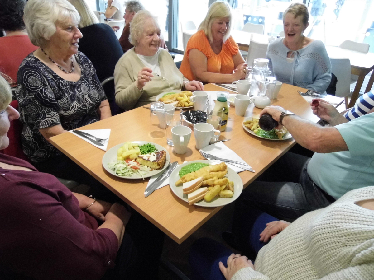 Members of the newly formed lunch club at Telford Whitehouse Hotel