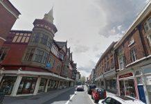 Castle Street in Shrewsbury. Photo: Google Street View