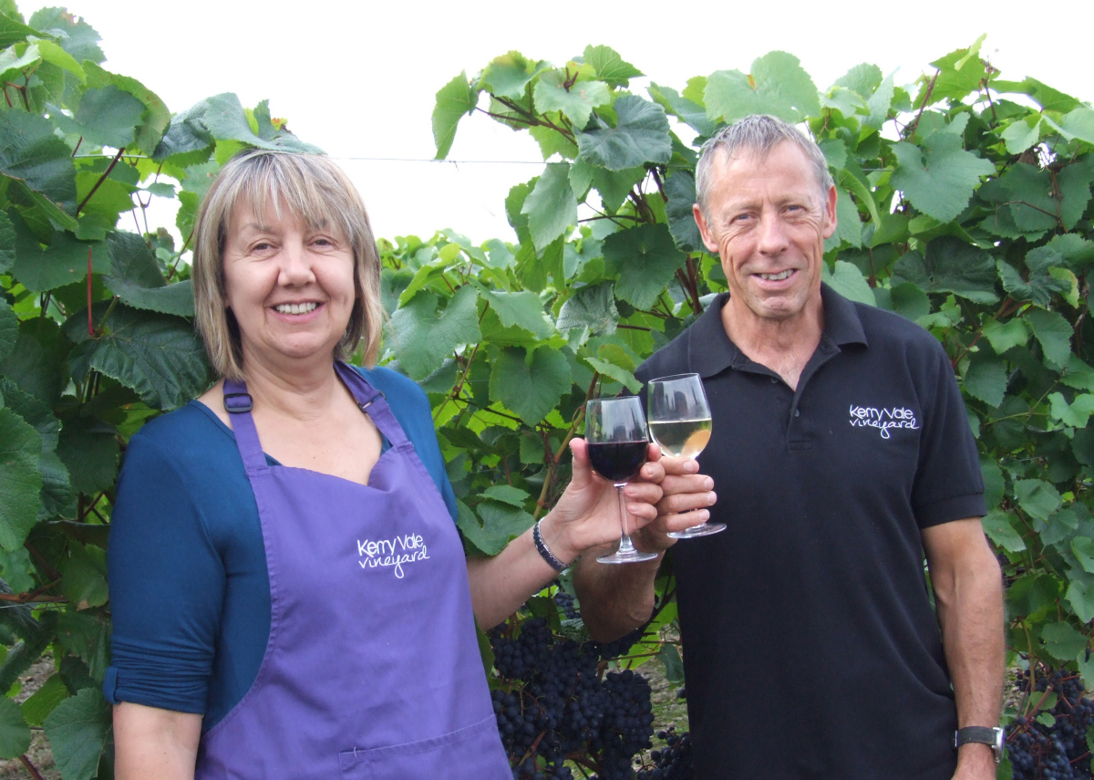 Kerry Vale owners June & Geoff Ferguson