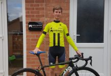 Liam Holohan, who previously rode for UCI teams 'Team Wiggins' and 'Madison Genesis,' now rides for Rhino Velo Race Team