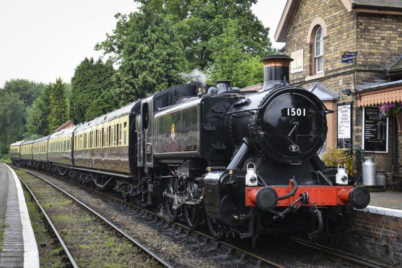 The Severn Valley Railway. Foto: SVR