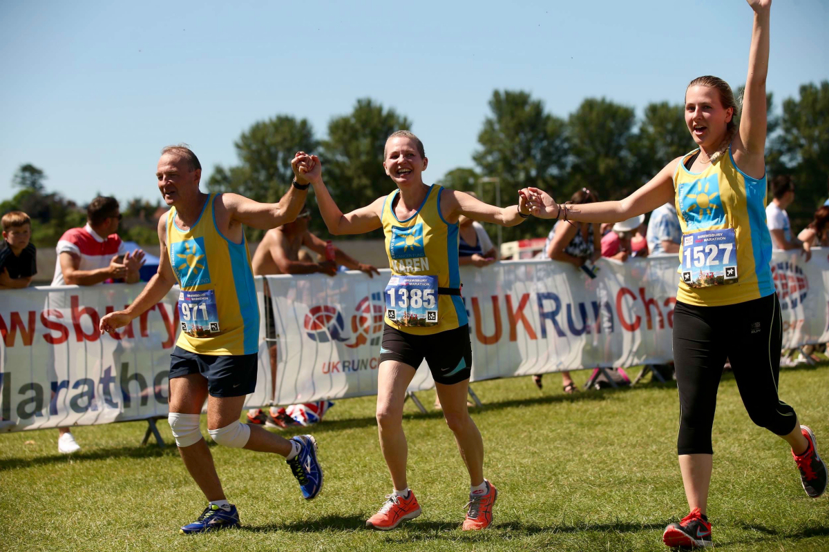 Lingen Davies Cancer Fund is one of seven Shrewsbury Half Marathon charity partners. Photo: Pic2Go Ltd