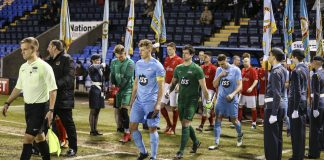 The teams head out at Shrewsbury. Photo: MOD / Sergeant Paul Oldfield
