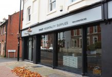 The new offices of Smart Hospitality Supplies in Abbey Foregate Shrewsbury
