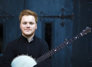 BBC Folk Award winner Greg Russell will be delivering the free songwriting workshop as part of Shrewsbury Folk Festival's Room for All project at The Hive in May. Photo: James Fagan